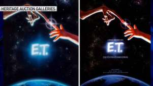 Original 'E.T.' Movie Poster Up for Auction