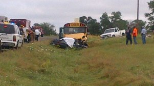 School Bus Involved in Fatal Crash