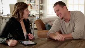 Tatum Gets Interviewed by Woman With Autism