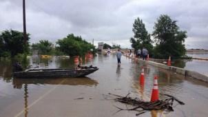 Record Rains Flood North Texas