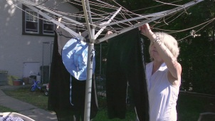 Here's Why You Should Dry Your Laundry on a Line