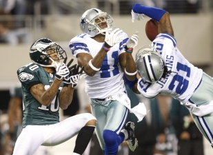 Pearson Blasts Dallas Secondary