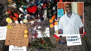 Eric Garner's Mom Outraged by Cop's Reported $120K Pay