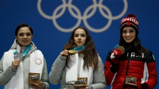 Feb. 23 Olympics Highlights in Photos: Russian Skaters Fight for Gold, Canada Brings Home First Women's Medal Since 2010
