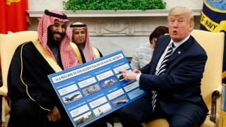 Top News Photos: Trump Talks Arms Sales to Saudi Arabia