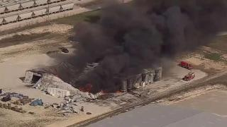 [DFW] Man Missing, 2 Injured in Explosion, Fire at Cresson Chemical Plant