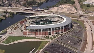 [DFW] Raw Video: Chopper 5 Over McLane Stadium