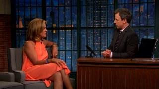 [NATL] 'Late Night': Hoda Kotb on Introducing Simone Biles to Zac Efron
