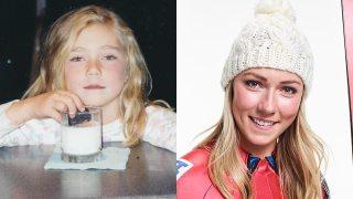 Mikaela Shiffrin's Childhood Photos