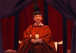 Japanese Emperor Naruhito Formally Ascends Chrysanthemum Throne