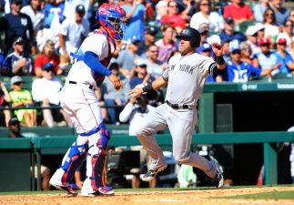 Judge, Sanchez 2 Homers Each in Yankees' 16-7 Win at Texas