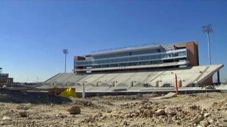 UNT's New Stadium Takes Shape