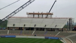 Progress at TCU's Amon Carter Stadium