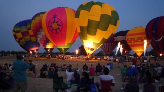 Balloon Festival in Highland Village