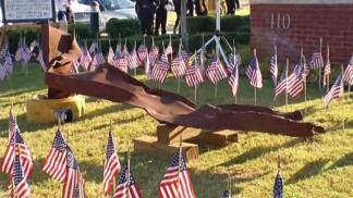 Piece of 9/11 History on Display in Mesquite