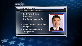 Perry Outlines Plan to Change Washington