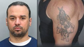 Police Release Photo of Morales' Distinct Tattoo