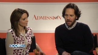 "Tina Fey & Paul Rudd Talk Chemistry, College and ""Admission"""