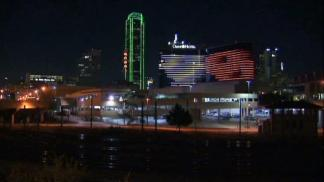 Texas-OU Lights Up Downtown