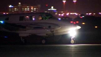 Aerial-Spraying Flights Lift Off