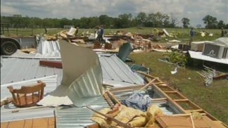 Sporadic Yet Significant Damage In Van Zandt County