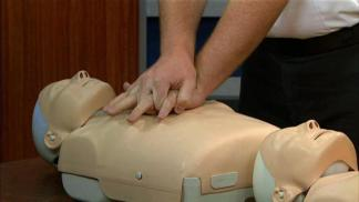 Hands-On CPR Demonstrated