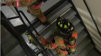 Firefighters Climb Stairs in Memory of FDNY