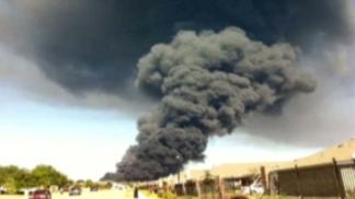 Waxahachie Releases Chemical Plant Fire Photos