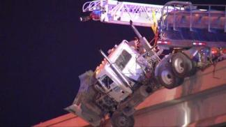 Watch Amazing Rescue of Big-Rig Driver