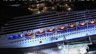 Carnival Triumph Arrives at Port