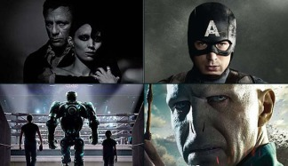 "Posters & Pics: ""Girl With the Dragon Tattoo"" & ""Captain America"" Deliver"