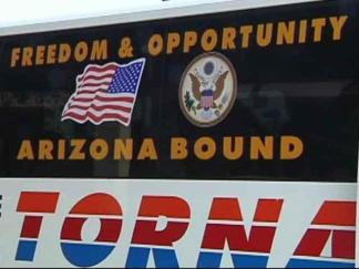 Freedom Bus Leaves Dallas for Arizona