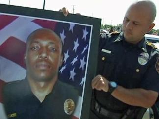 Vigil Held for Officer Craig Shaw