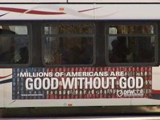 Bus Boycott Over Good Without God Ads