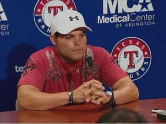 """Good Fans and Good Team"" Pudge Rodriguez"