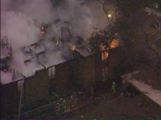Fire Devours Dallas Apartment Building