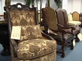 Furniture Store's Tax Troubles Force Auction of Inventory