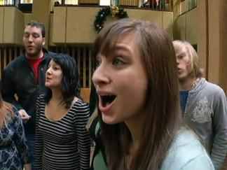 "UNT A Cappella Group Taking Notes From ""The Sing-Off"""