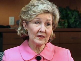 Hutchison Says She Won't Talk Secession