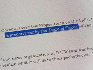 State Property Tax? Don't Count On It