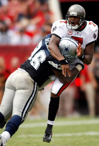 Game Pics: Cowboys Beat Up On The Bucs