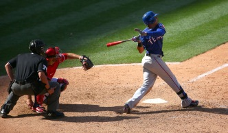 11th-Inning HR Helps Rangers Beat Angels