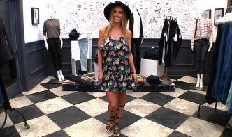 Get The Look: Audrina Patridge's Music-Inspired Style