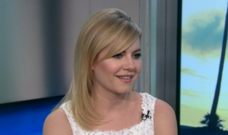 "Elisha Cuthbert Talks ""One Big Happy"""