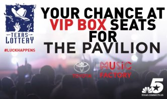 The Texas Lottery VIP Giveaway at the Toyota Music Factory