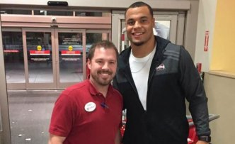 Dak Spotted Shopping for Salvation Army/NBC 5 Angels