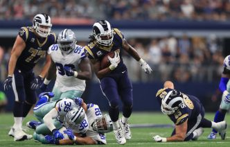 Gurley, Rams Continue Strong Start, Rally Past Cowboys 35-30