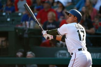 Rangers' Choo Out With Sore Quad Amid 41-Game Streak
