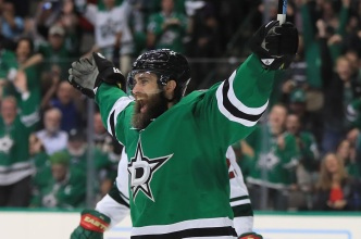 Stars Trade Patrick Eaves to Ducks for Draft Pick