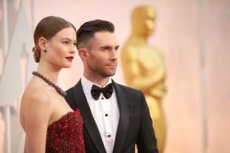 Adam Levine's Giant Back Tattoo Is Finally Complete
